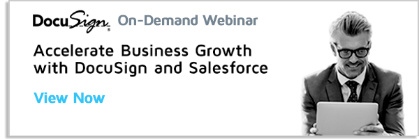DocuSign for Salesforce webinar