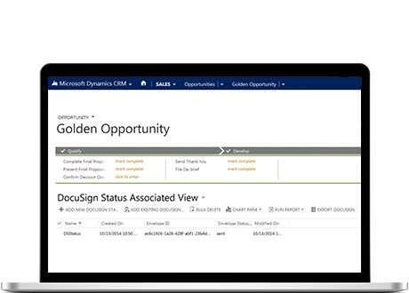 DocuSign for Dynamics CRM Online