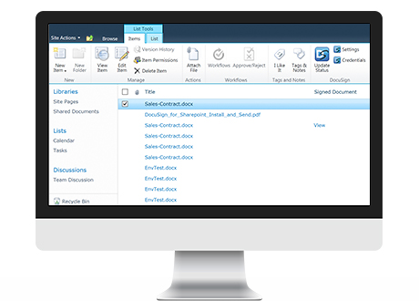 DocuSign for Word