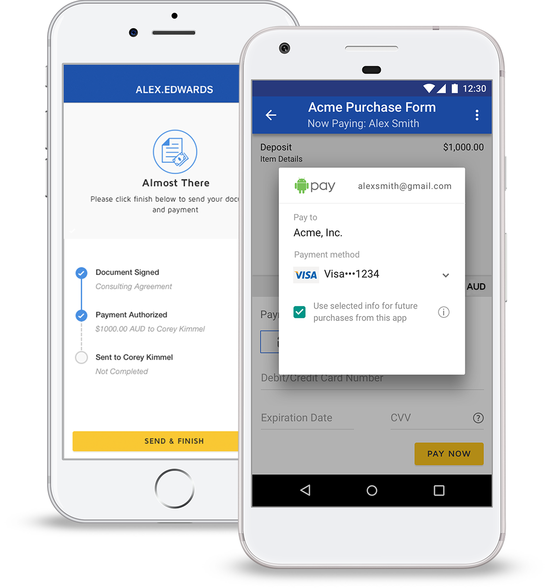DocuSign Payments