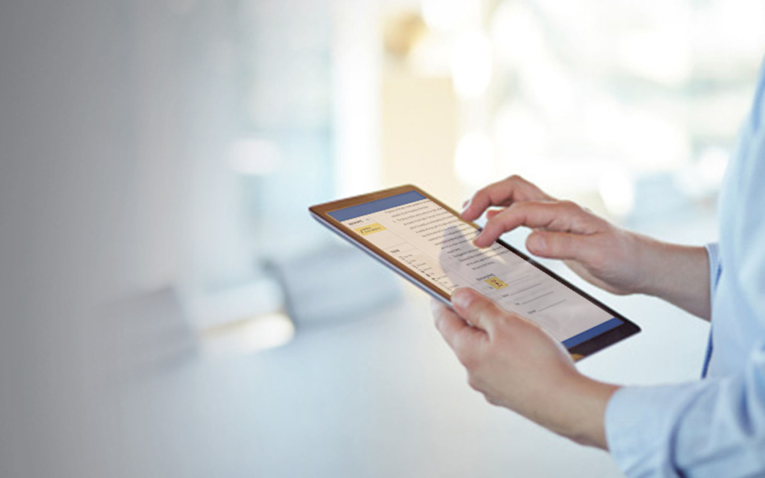 How to electronically sign documents on an iPhone/iPad