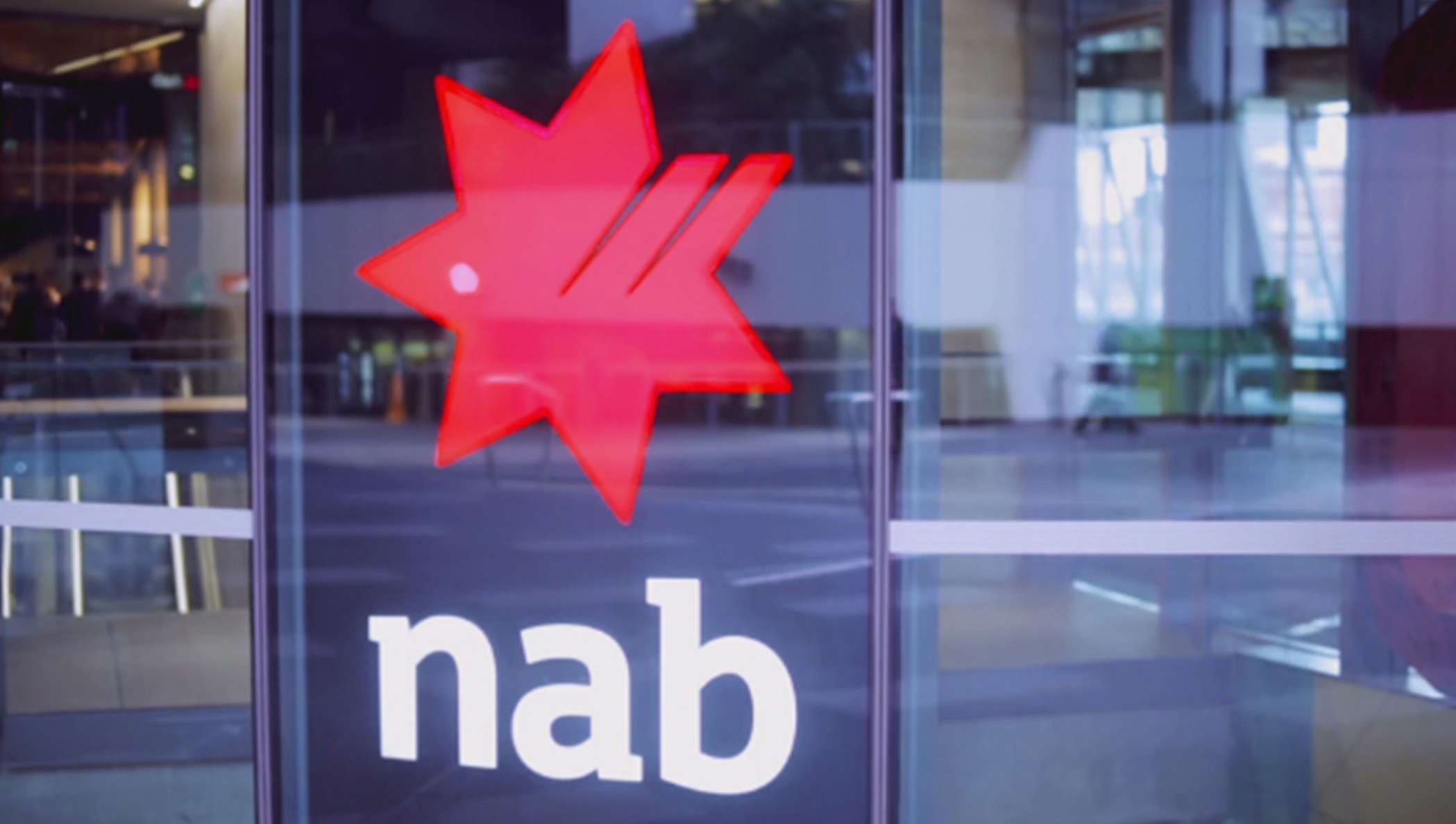 NAB logo screen