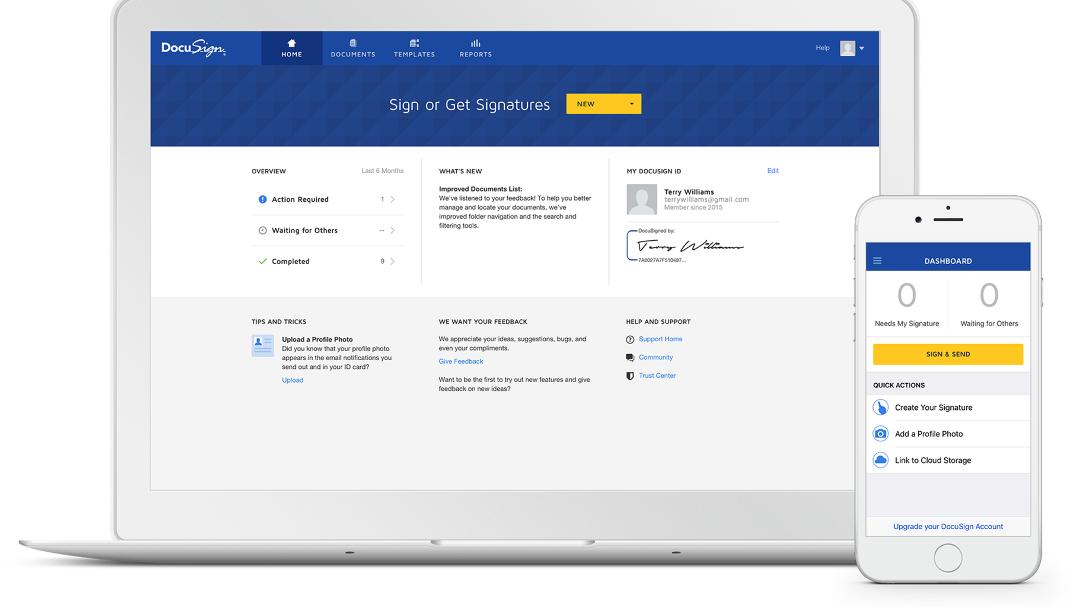Electronic Signatures Docusign