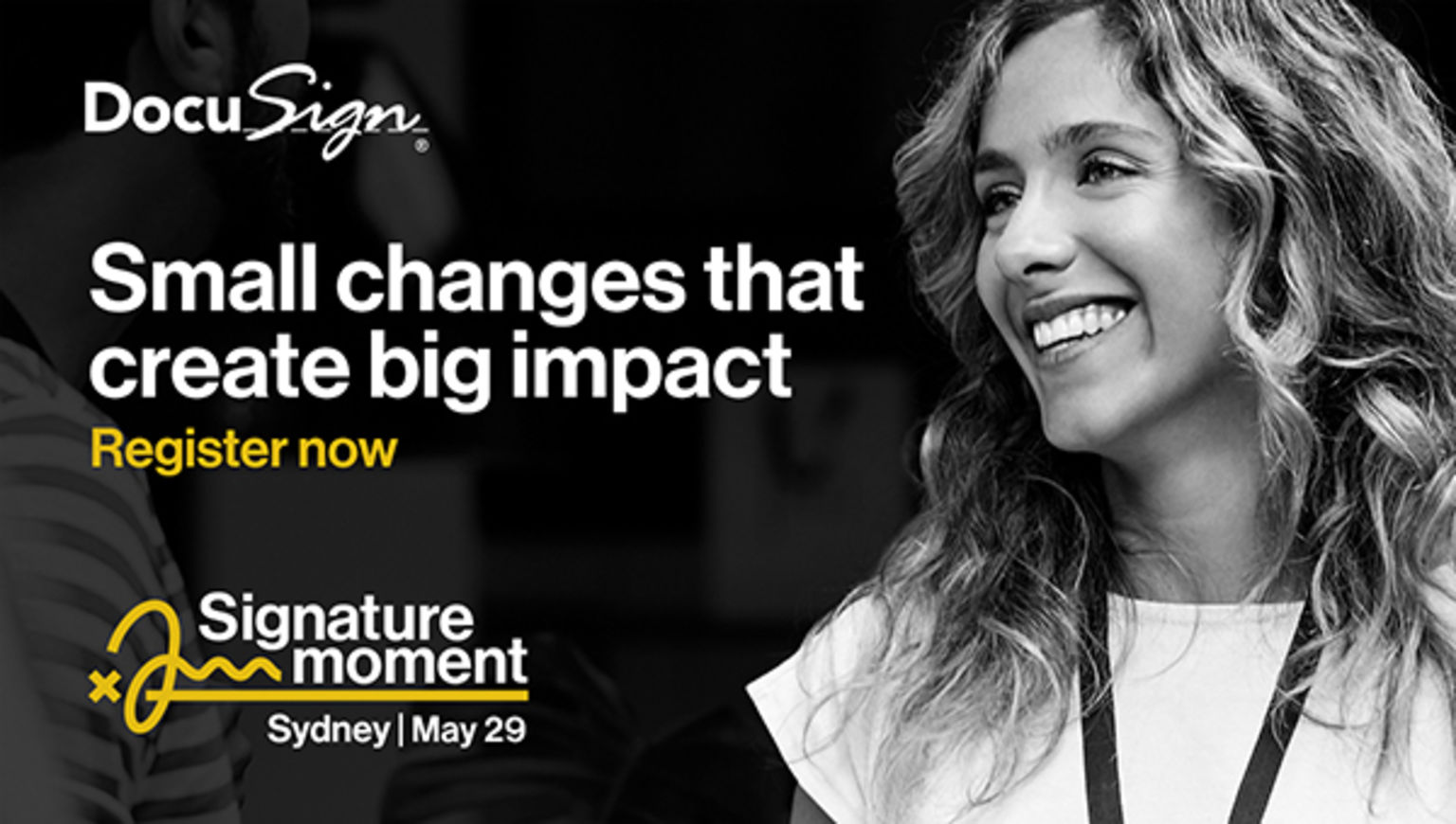 Small changes that create big impact. Register now.